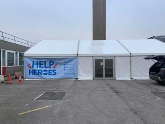 Lewis Marquees support 'Help NHS Heroes' at local hospitals